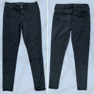 American Eagle Outfitters Pants - American Eagle Skinny Cargo Jegging Pants 6